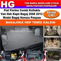 Fiat Fiorino Combi 2008 2013 Gri Bagaj Havuzu Paspası 38752