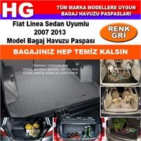 Fiat Linea 2007 2013 Gri Bagaj Havuzu Paspası 38755