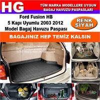 Ford Fusion 2003 2012 Siyah Bagaj Havuzu Paspası 38776