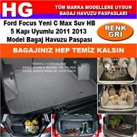 Ford C Max 2011 2013 Gri Bagaj Havuzu Paspası 38786