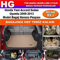 Honda Accord 2009 2013 Bej Bagaj Havuzu Paspası 38822