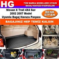 Nissan X Trail 2002 2007 Siyah Bagaj Havuzu Paspası 38934