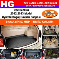 Opel Mokka 2012 2013 Siyah Bagaj Havuzu Paspası 38975