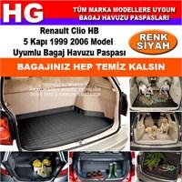 Renault Clio Hb 1999 2006 Siyah Bagaj Havuzu Paspası 39066