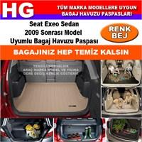 Seat Exeo Sedan 2009 Sonrası Bej Bagaj Havuzu Paspası 39069