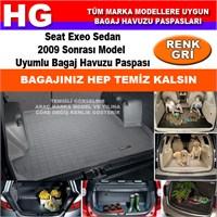 Seat Exeo Sedan 2009 Sonrası Gri Bagaj Havuzu Paspası 39070