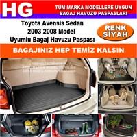 Toyota Avensis 2003 2008 Siyah Bagaj Havuzu Paspası 39110