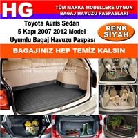 Toyota Auris Hb 2007 2012 Siyah Bagaj Havuzu Paspası 39114