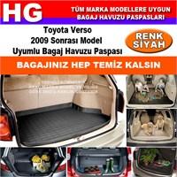 Toyota Verso 2009 Sonrası Siyah Bagaj Havuzu Paspası 39118