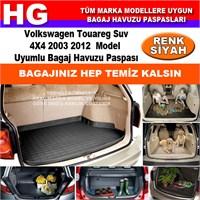 Volkswagen Touareg 2003 2012 Siyah Bagaj Havuzu Paspası 39148