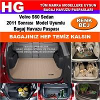 Volvo S60 Sedan 2011 Sonrası Bej Bagaj Havuzu Paspası 39163