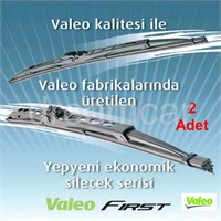 Valeo Compact 380mm+380mm C38 Universal Telli Grafitili Silecek 2 Ad. 576002