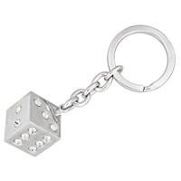 Diamond Taşlı Zar Anahtarlık