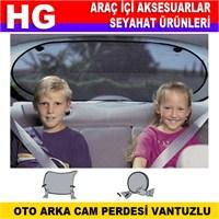 Otocontrol Oto Arka Cam Perdesi Vantuzlu 39193