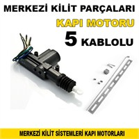 Otocontrol Merkezi Kilit Motoru 5 Kablolu 40203