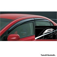 AutoCet Volkswagen Jetta 2013 Mugen 4lü Rüzgarlık Seti -3335a