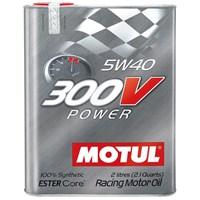 MOTUL 300V POWER 5W40 Tam Sentetik Motor Yarış Yağı 3368a