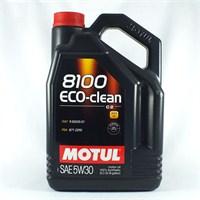 Motul 8100 Eco-clean+ 5W30 Ultra Performance Motor Yağı (Dizel Ve Benzinli Partikül Filteri) 5 LT