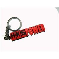 Z tech Metal HKS Power Kırmızı Anahtarlık