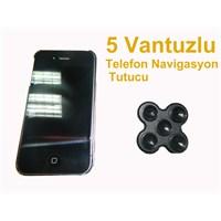 Z tech 5 Vantuzlu Telefon Tutacağı