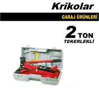 Kriko Tekerlekli Garaj Tipi 2 Ton Kapasiteli 40036