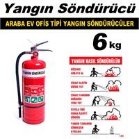 Yangın Söndürme Cihazı Ev Ve Ofis Tipi 6 Kg 40097