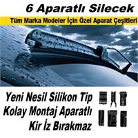 6 Aparatlı Banana Tip Silecek Süpürgesi 650 mm 39401