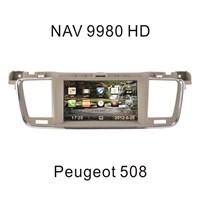 "Navimex PEUGEOT 508 NAV9980HD 8"" Dokunmatik HD Ekranlı TV'li-Navigasyonlu Multimedya sistem"