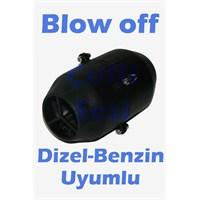 Universal Tüm Araçlara Uygun Elektrikli Blow off(Siyah)