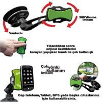 Automix Cep Telefonu ve Navigasyon Tutacağı 360 Derece Dönebilir