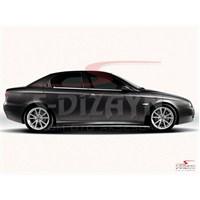 S-Dizayn Alfa Romeo 156 Cam Çıtası 4 Prç. P.Çelik ( 1997 - )