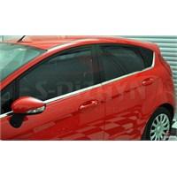 S-Dizayn Ford Fiesta Cam Çıtası 8 Prç. P.Çelik (2009>)