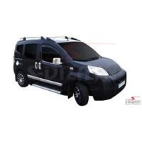S-Dizayn Peugeot Bipper Yan Kapı Çıtası 4 Prç. P.Çelik (2008>)