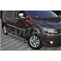 S-Dizayn Vw Caddy Yan Kapı Çıtası 4 Prç. P.Çelik (2004>)