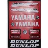 Tex 662 Yamaha Stiker