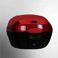 Cedex T10 Motosiklet Reflektörlü Arka Çanta Kırmızı