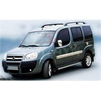 S-Dizayn Fiat Doblo Yan Kapı Çıtası 4 Prç. P.Çelik (Geniş) (2006-2010)