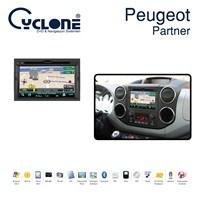 Cyclone PEUGEOT Partner DVD ve Multimedya Sistemi (Orj. Anten ve Kamera Hediyeli)