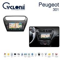 Cyclone PEUGEOT 301 DVD ve Multimedya Sistemi (Orj. Anten ve Kamera Hediyeli)