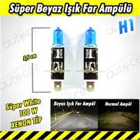 AutoCet Süper Beyaz Işık H1 Xenon Tip Far Ampülü 3437a
