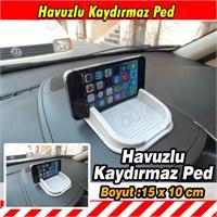 AutoCet GRİ Kaydırmaz Havuzlu Torpido Pedi 3469a