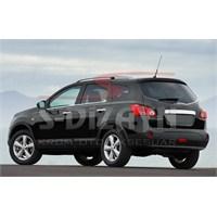 S-Dizayn Nissan Qashqai+2 2010> Model Ve Üzeri Cam Çıtası 4 Prç. Krom P.Çelik