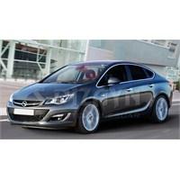 S-Dizayn Opel Astra J (Sedan) 2012> Model Ve Üzeri Cam Çerçevesi (12 Prç.) ( Bütün - Formlu ) Sedan