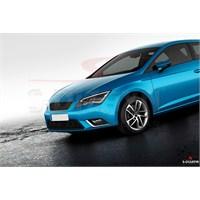 S-Dizayn Seat Leon 2013> Model Ve Üzeri Sis Farı Çerçevesi 2 Prç. Krom P.Çelik