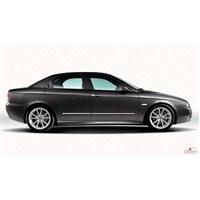 S-Dizayn Alfa Romeo 156 Kapı Koruma Çıtası Krom P.Çelik + Abs Plastik 8 Prç.