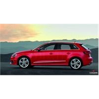 S-Dizayn Audi A3 2013 Üzeri Hb Kapı Koruma Çıtası Krom P.Çelik + Abs Plastik 8 Prç.