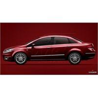 S-Dizayn Fiat Linea Kapı Koruma Çıtası Krom P.Çelik + Abs Plastik 8 Prç.