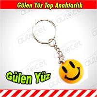 AutoCet Gülen Yüz Anahtarlık 3484a