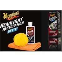 Meguiars ONE-STEP Kit Far Plastik Temizleme Kiti 851900