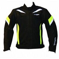 Prohel Alaska Yazlık Motosiklet Mont Siyah-Sarı